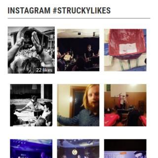 Strucky Likes Instagram-widget för WordPress